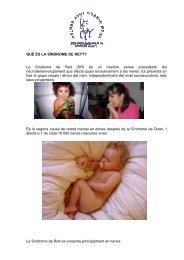 Presentació Síndrome de Rett - Asociación Catalana del Síndrome ...