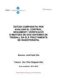 estudi comparatiu per avaluar el control, seguiment i verificació d ...