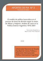 Aportes de PIA Nº 3 – ZUBELZÚ, Graciela y BUENO, Pilar - Politica ...