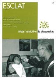 Dieta i nutrició en la discapacitat - Associació Esclat