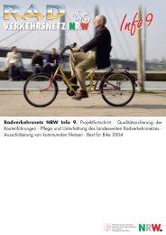 RadInfo_09.pdf - Arbeitsgemeinschaft fahrradfreundliche Städte ...