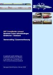 HST CrossBorder connect Business Cases railverbindingen ... - IVV