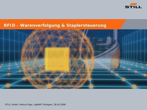 Helmut Kipp, STILL - RFID