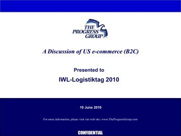 A Discussion of US e-commerce - IWL AG