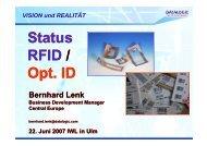 Bernhard Lenk, Datalogic -