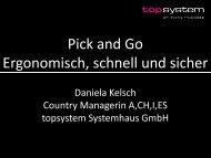 Pick and Go – Ergonomisch, schnell und sicher