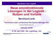 Bernhard Lenk, Datalogic - IWL AG