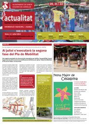 Juliol [Núm. 6 - pdf 1,71 Mb] - Ajuntament de Santa Coloma de ...