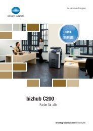 bizhub C200 - Jahn Büroorganisation GmbH