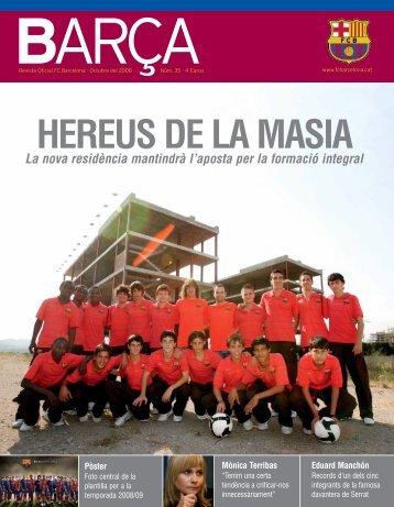 HEREUS DE LA MASIA - FC Barcelona