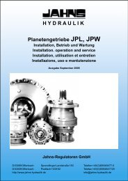 hydraulik - Jahns-Regulatoren GmbH