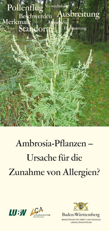 Faltblatt ambrosia alberternst nawrath 090507 for Pflanzen laden berlin