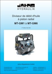 MT-GM1 - Jahns-Regulatoren