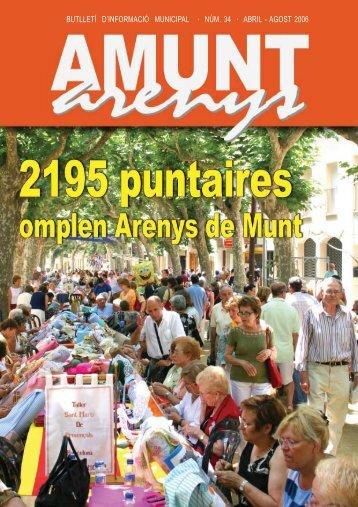 amunt 34 bo.pmd - Ajuntament d'Arenys de Munt