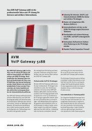 AVM VoIP Gateway 5188 - Jahn Büroorganisation GmbH