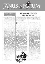 Forum 3/2004 - Janus GmbH & Co. KG