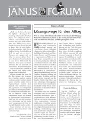 Forum 3/2002 - Janus GmbH & Co. KG