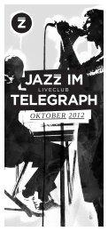 OktOber 2012 - Jazzclub Leipzig eV