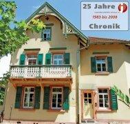 25 Jahre Chronik - bei der Jugendberufshilfe Ortenau eV