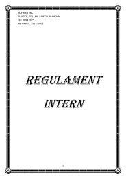 REGULAMENT INTERn - Doctor Finance