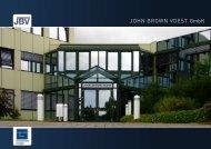 JOHN BROWN VOEST GmbH - Jbv.de
