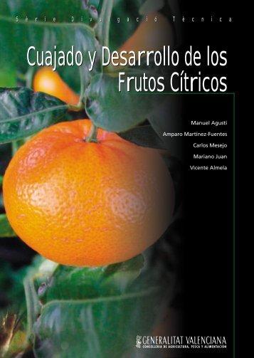 Cuajado y Desarrollo de los Frutos Cítricos - IVIA