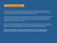CRECIMIENTO Y DESARROLLO - Fisiología Vegetal