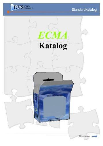 ECMA Katalog