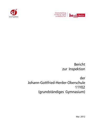 Bericht 11Y02 - G.-Herder-Gymnasium