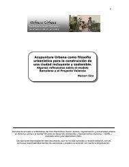 Acupuntura Urbana como filosofía urbanística para la ... - Cepal