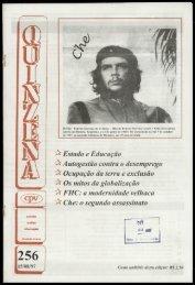 256 15/08/97 - Centro de Documentação e Pesquisa Vergueiro