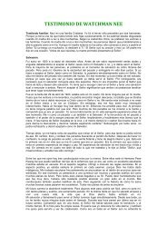 Testimonio de Wacthman Nee.pdf - Tesoros Cristianos