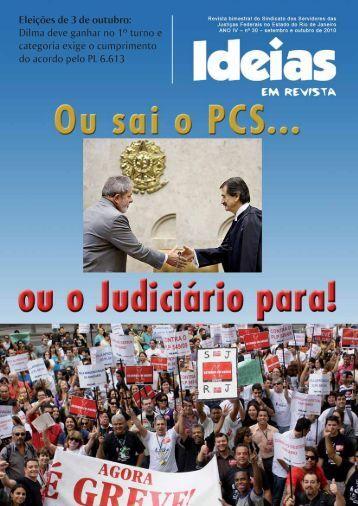 Revista-30 (Setembro e Outubro-2010) - Sisejufe