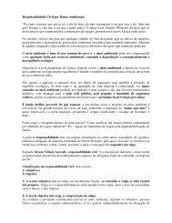 Artigo 141 - Responsabilidade Civil Ambiental - Outorga