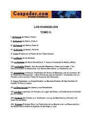 LOS EVANGELIOS TOMO II: - Sexta Apostolica