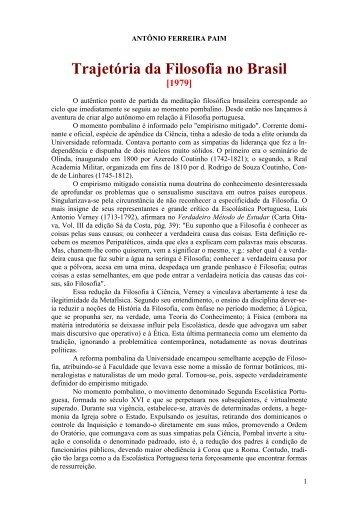 Antônio Paim - Curso Independente de Filosofia