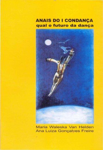 ANAIS DO I CONDANÇA qual o futuro da dança - Helena Katz