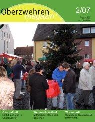 Oberzwehren-Magazin 2 / 2007 - Jugendmigrationsdienst ...