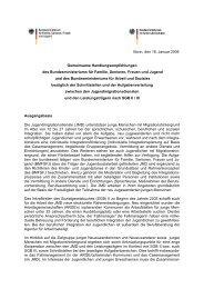 Handlungsempfehlungen des BMFSFJ und BMAS zur Kooperation ...