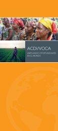 Haga clic aquí para descargar el Folleto Institucional de ACDI/VOCA
