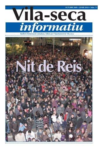 Vila-seca Informatiu - Octubre-Gener 2010 núm. 71 - Ajuntament de ...