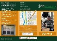 Flyer zum Download als pdf - Job.sozial
