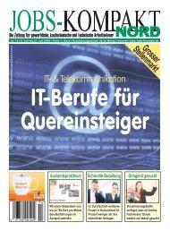 Grosser Stellenmarkt IT- & Telekommunikation - Jobs-Kompakt