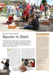 Spuren in Stein - Jocham - Natursteine