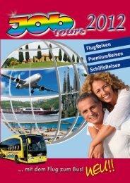 Wichtige Informationen für alle Gäste unserer ... - Job Tours GmbH