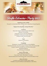 Große Silvester-Party 2011