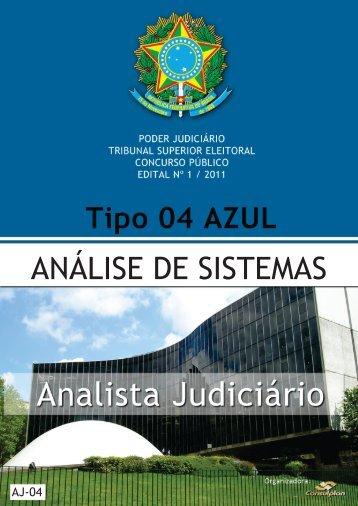 ANALISTA JUDICIÁRIO - ANÁLISE DE SISTEMAS ... - Consulplan