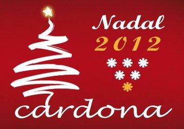 Nadal 2012 - Ajuntament de Cardona
