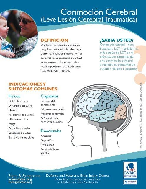 Dolor de cabeza debido a una lesión cerebral
