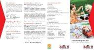 Ausbildungsprogramm 2012 - Die Johanniter